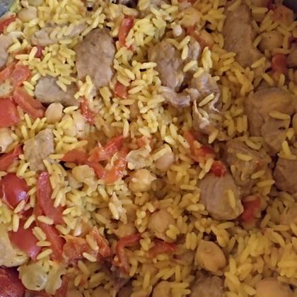 arroz con magro y garbanzos de Gema Castro JackD....jpg