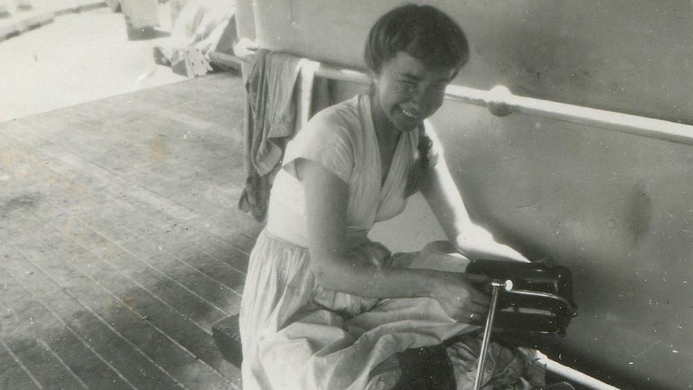 Jakobine on stowaway ship winking copy.jpg