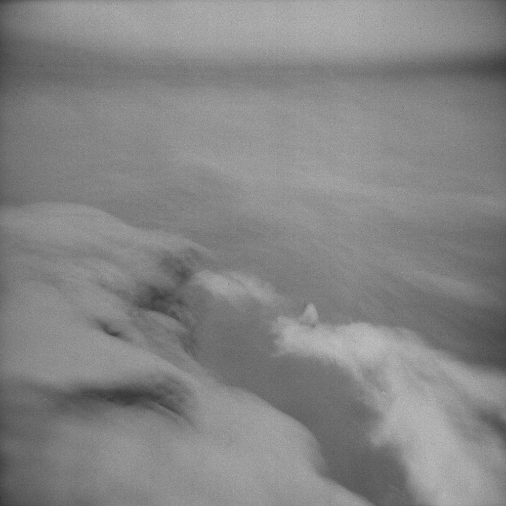 [#041704] Surfing by the rock, Study 1, Santa Cruz, USA, 2013