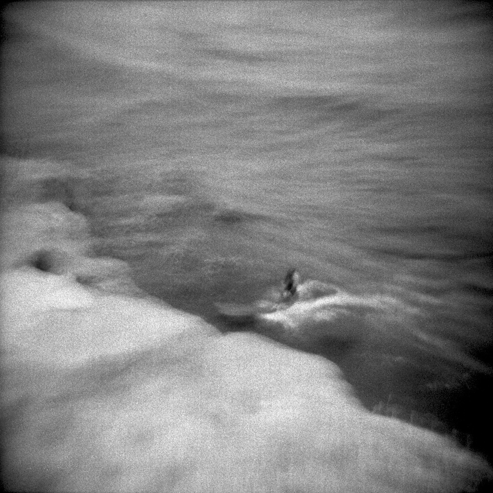 [#041707] Surfing by the rock, Study 2, Santa Cruz, USA, 2013.jpg