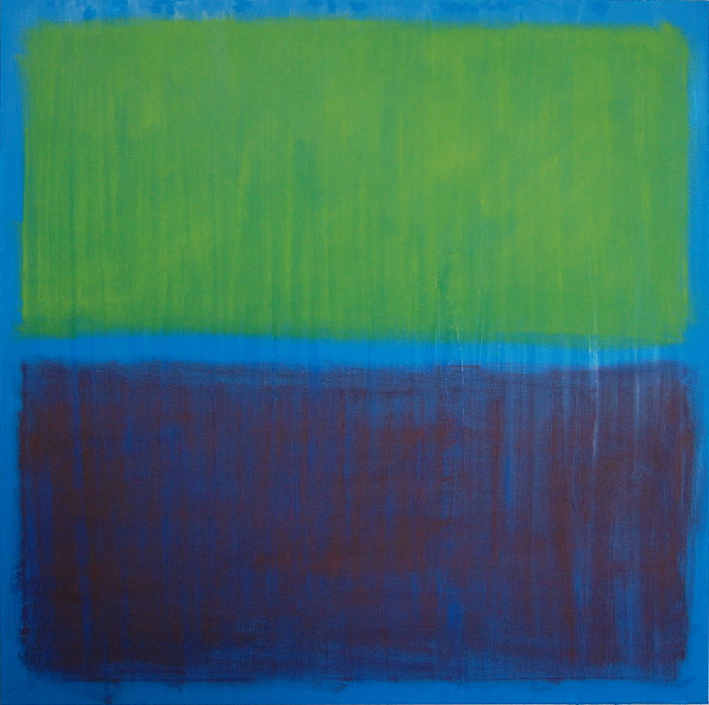 Splitting The Atom II, oil on canvas, 36''x36'', 2015.jpg