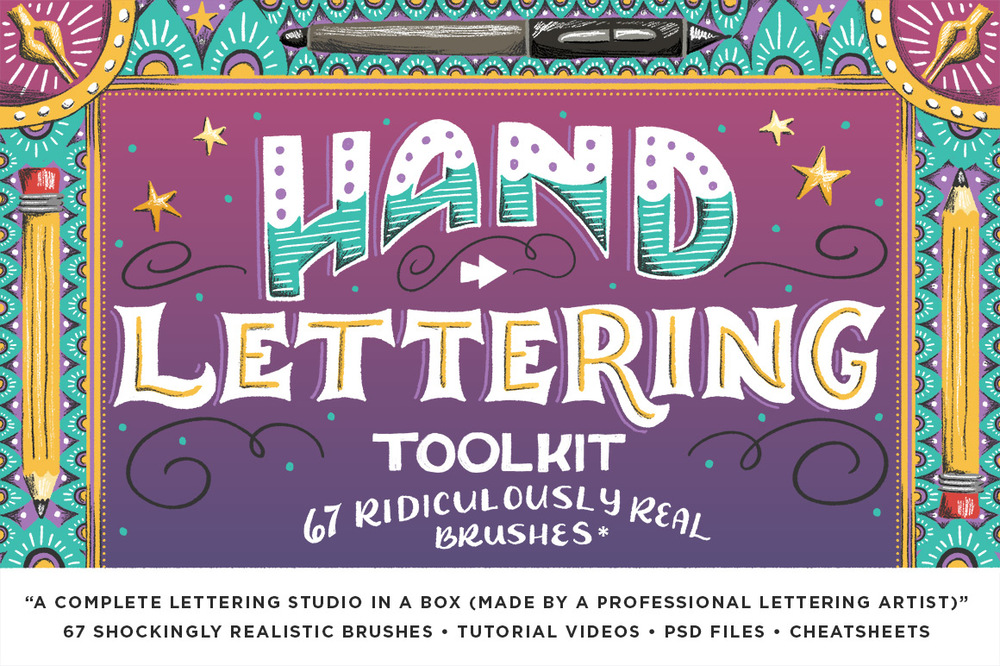 The Hand Lettering Toolbox
