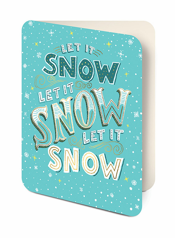 Let It Snow Studio Oh Shauna Lynn Panczyszyn Item #82669 UPC 846307022686