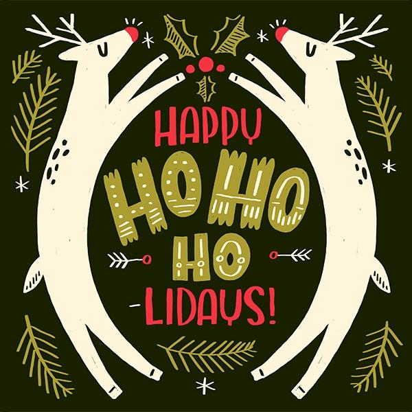 Happy Ho-Ho-Holidays