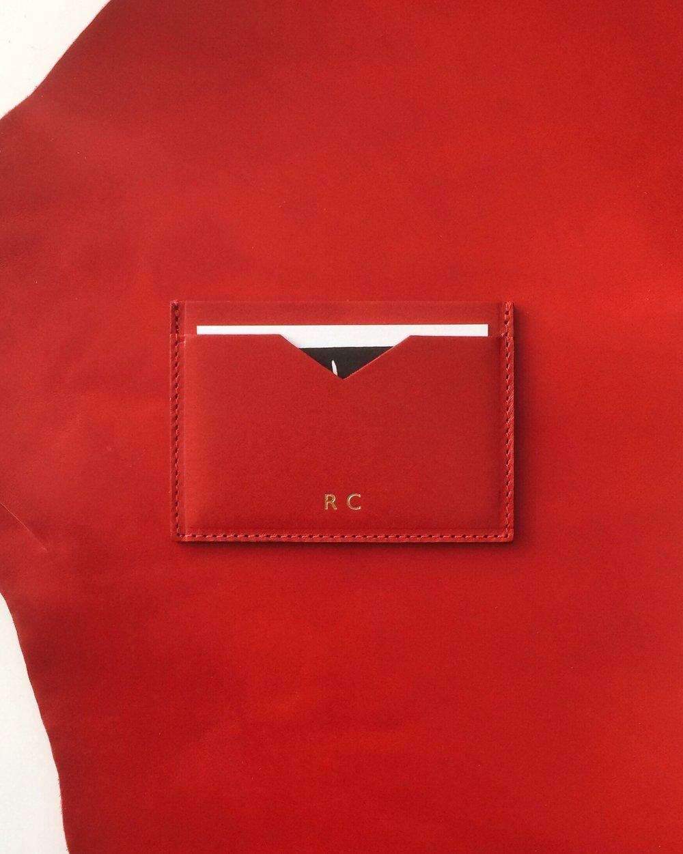 AWL_Slim Cardholder Rosso