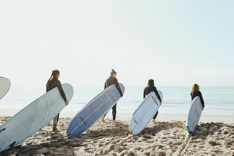 Camp Yoga California O'hana Surf Camp Photograph by: Des Iles Photography