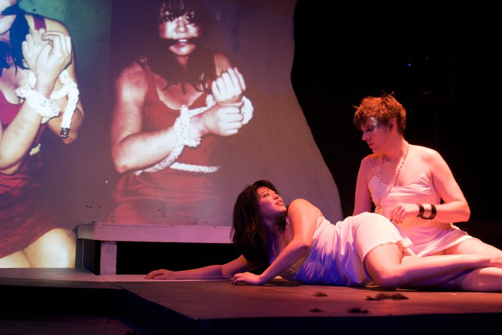 Iphigenia Crash Land Falls on a Neon Shell That Once was her Heart