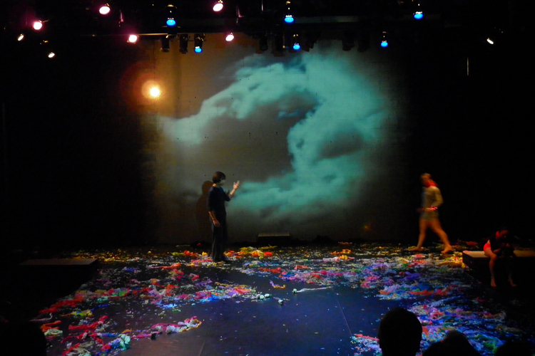 The backwall as 'empty canvas' in TheMassive's Faust 2011