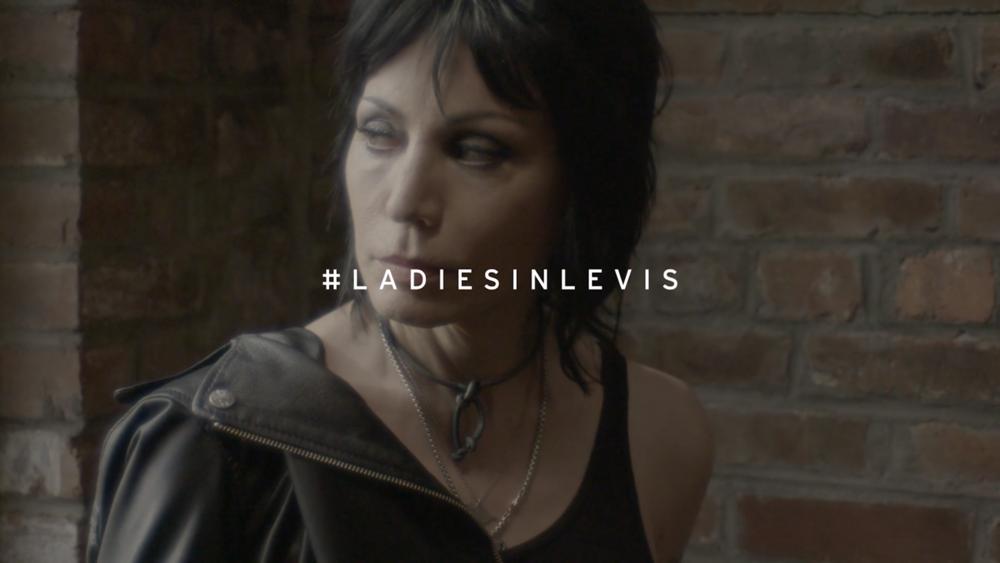 LADIES IN LEVI'S - JOAN JETT / PETRA COLLINS