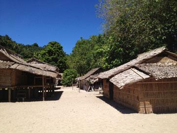 Kmaga Village Huts.