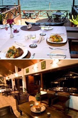 Sunset Bungalows Resort Dining.