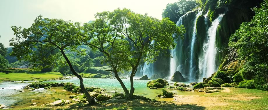 Vietnam Waterfall.