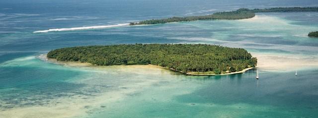 Aerial Shot of Lola Island