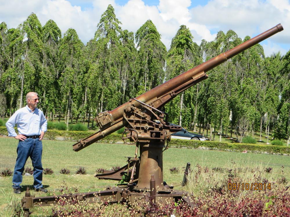 Guadalcanal Henderson Field BJ and Gun