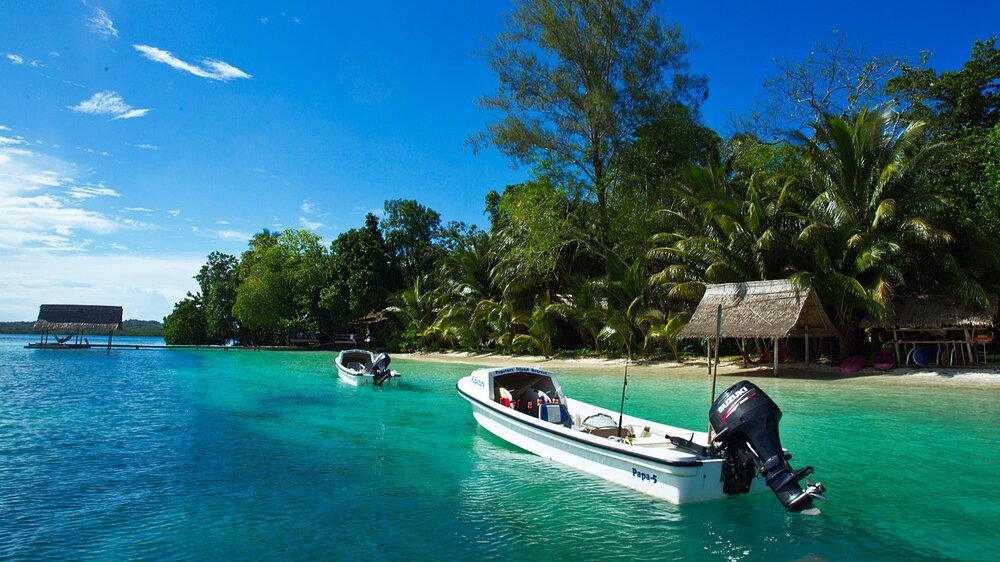 """""""STEP OFF THE MAP""""   The world's only Solomon Islands travel expert   Get your Solomon's holiday tailor made by the best in the business."""