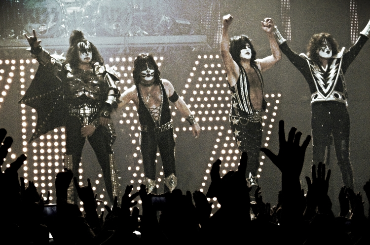 KISS in concert. Photo by Andrew King
