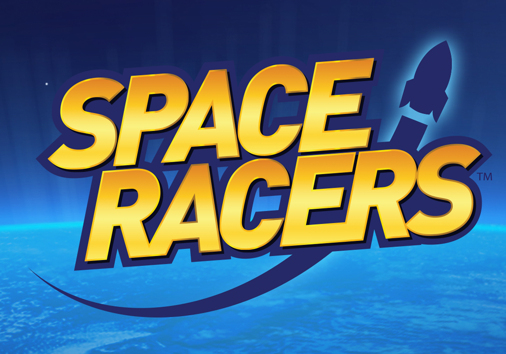 Logo Design & Brand Identity Lightning Jar helped Space Racers define and launch their brand with the design of the Space Racers logo.