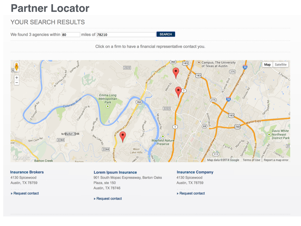 Partner Locator best practices.