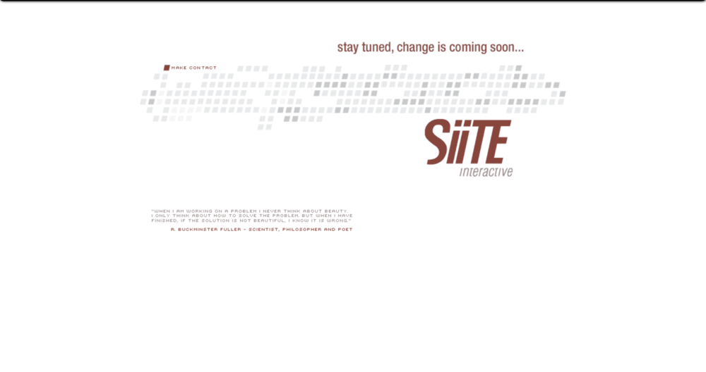 The first SiiTE.com - July, 2001