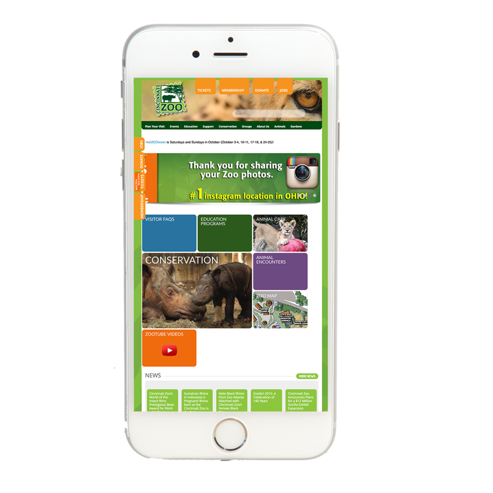 The Cincinnati Zoo & Botanical Garden showcases its visitors' Instagram photos.