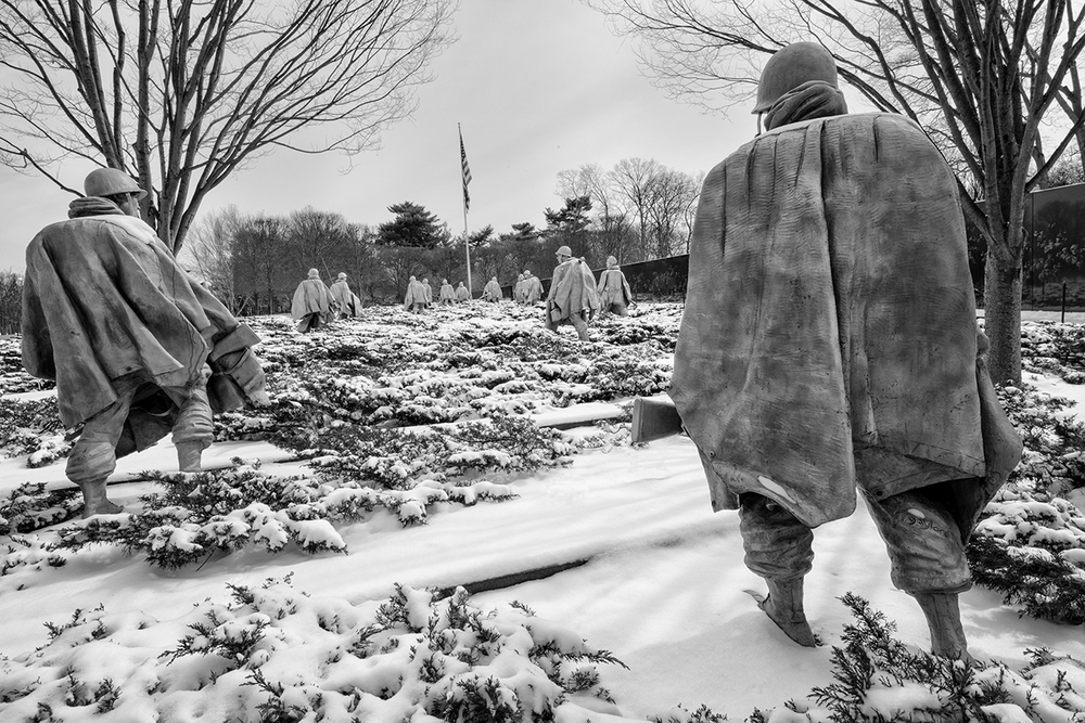 Korean War Veterans Memorial. Photo Credit:  Shaun Moss Photography