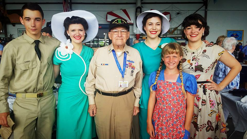 The Mid Atlantic Air Museum's annual WWII Weekend in Reading, PA