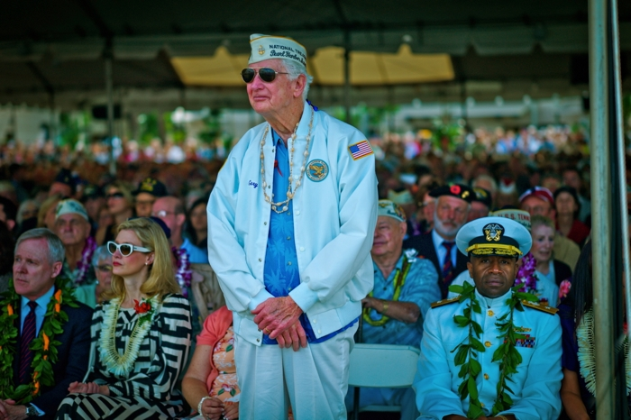 Gery H. Porter  February 14, 1922 - September 17, 2014  USS West Virginia  Pearl Harbor