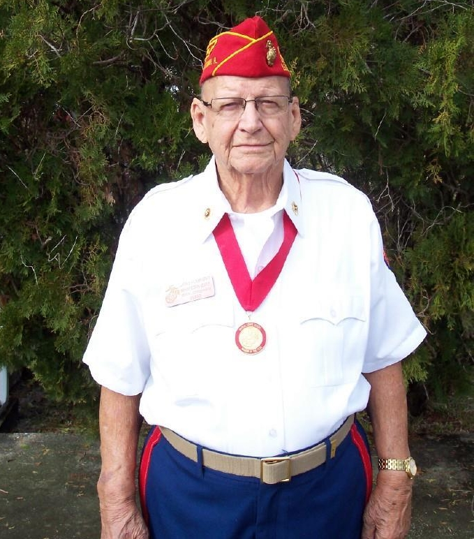 "Lawrence ""Larry"" Humphrey  June 7, 2017  Marine Corps - WWII  Iwo Jima"
