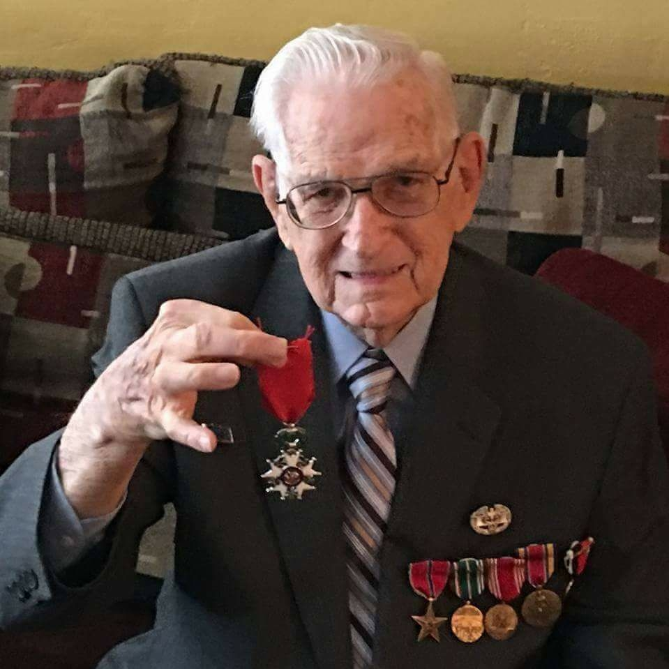 Waldo Werft  January 3, 1923 - November 8, 2017  Army - Medic  Normandy, Battle of the Bulge