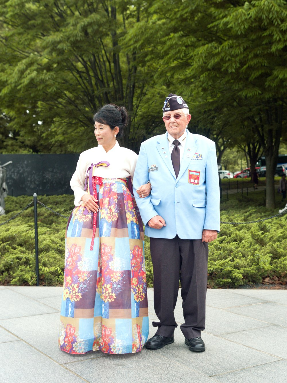 Memorial Program at the Korean War Memorial