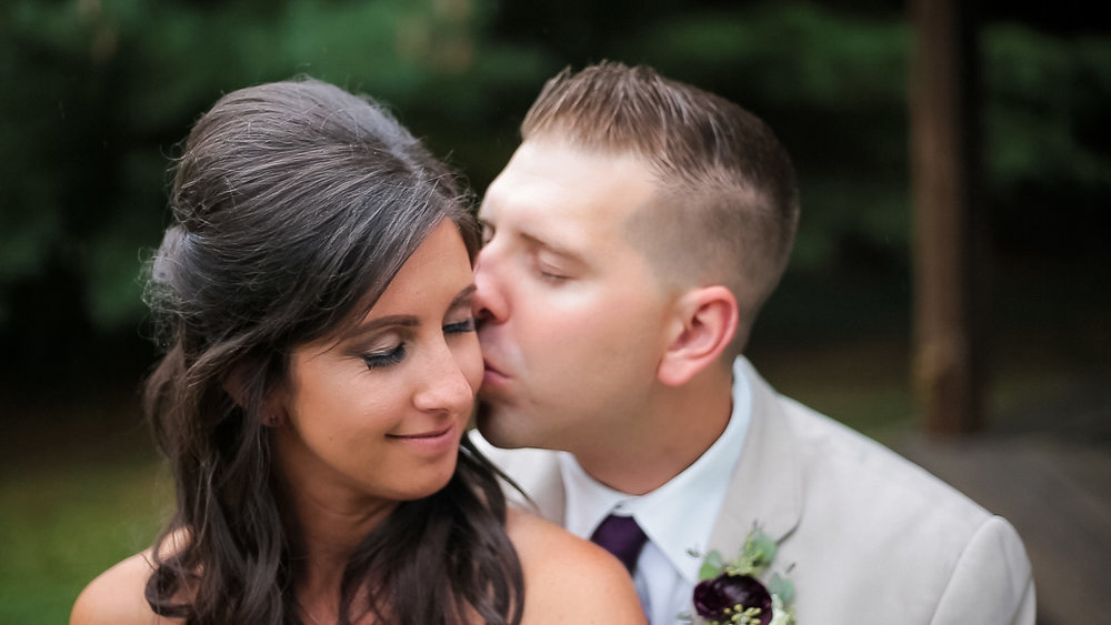 """Ashley + Reggie   """"David did an amazing job documenting our wedding! I could not be happier. He was so precessional and fun to work with. He promptly answered all questions I had during my planning process. I recommend him frequently to brides to be."""""""