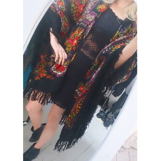 Love this Rich Hippies kaftan!  Handmade from #vintage fabric by @rachel_valentine... more styles in store now! This ones £38 😍👌