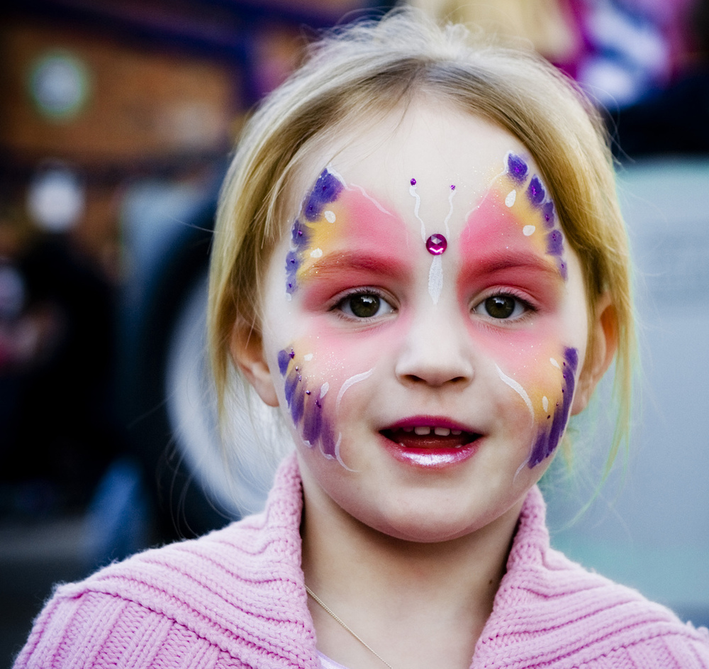 What kids love right now   Face painting    See our gallery