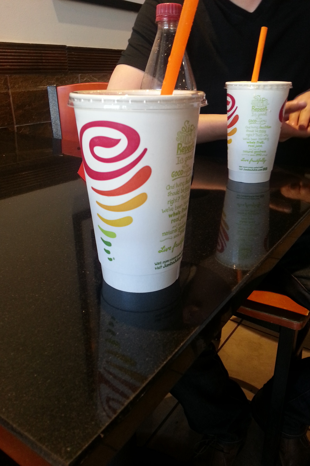 Free Jamba Juice: Peach Perfection!!