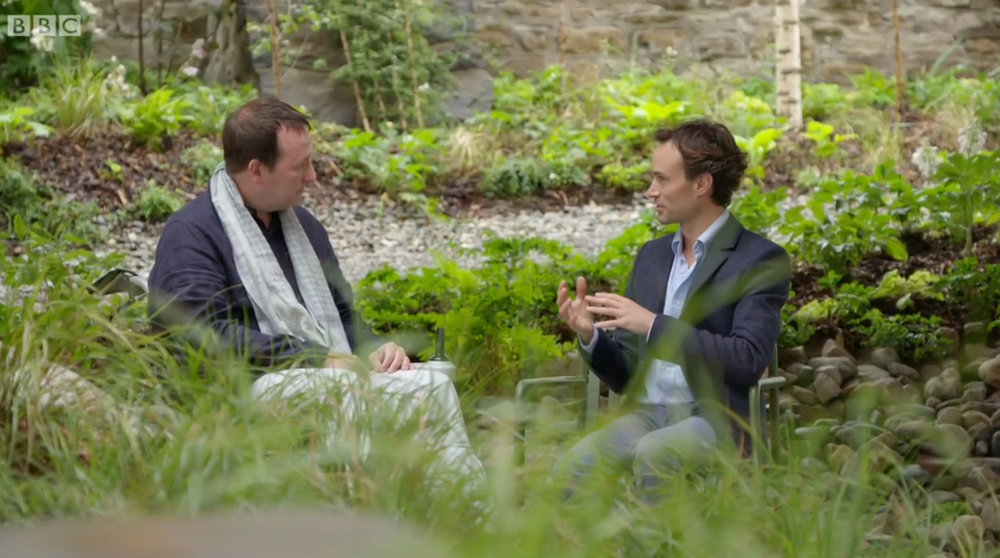 Click here to watch interview   Interviewed for BBC Gardeners' World, in the  garden I designed for Maggies Centre Oldham. In collaboration with dRMM Architects. 2017