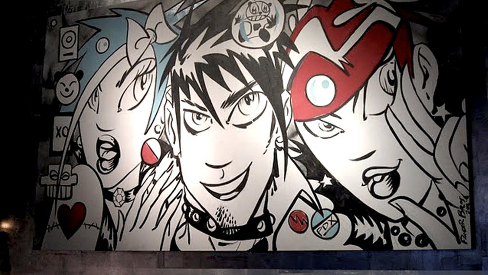 Voice Box NW Karaoke Interior Mural