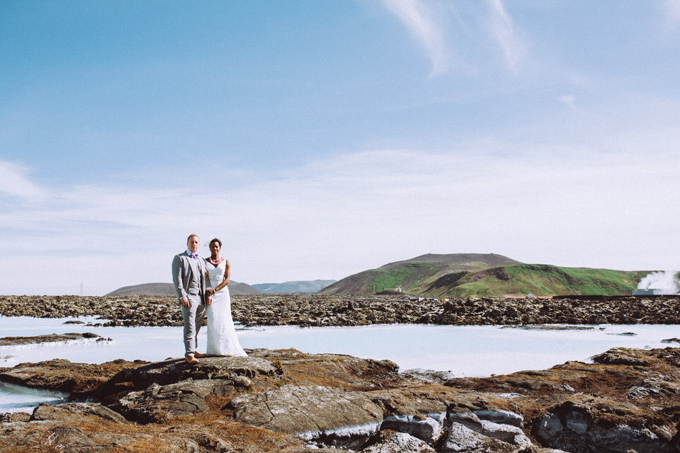 Iceland elopement/wedding Blue Lagoon