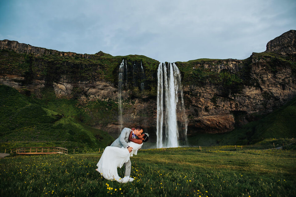 Seljalandsfoss Wedding