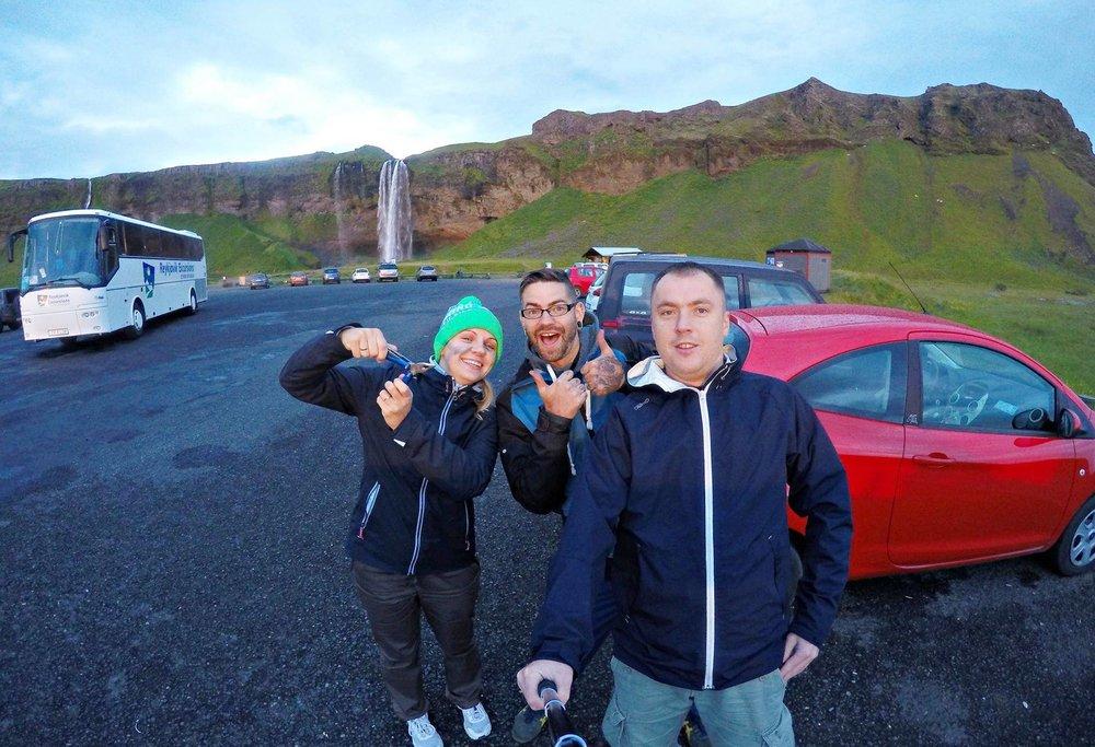 Iceland selfie