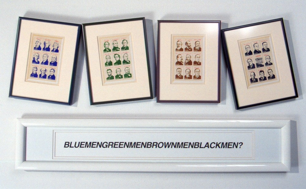BlueMenGreenMenBrownMenBlackMen?