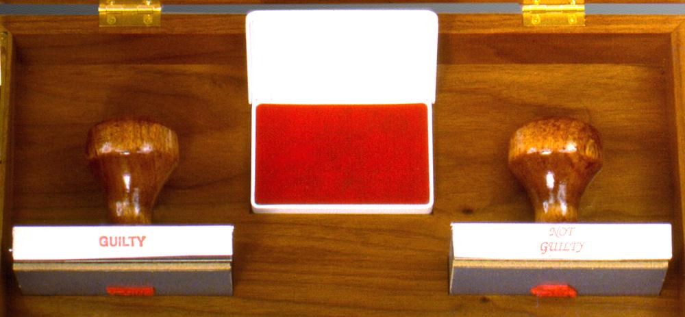 Jury Box (detail)