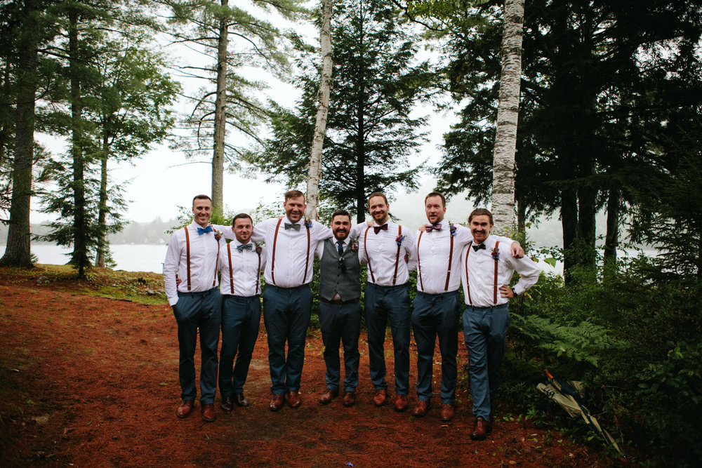 groomsmen-in-the-forest