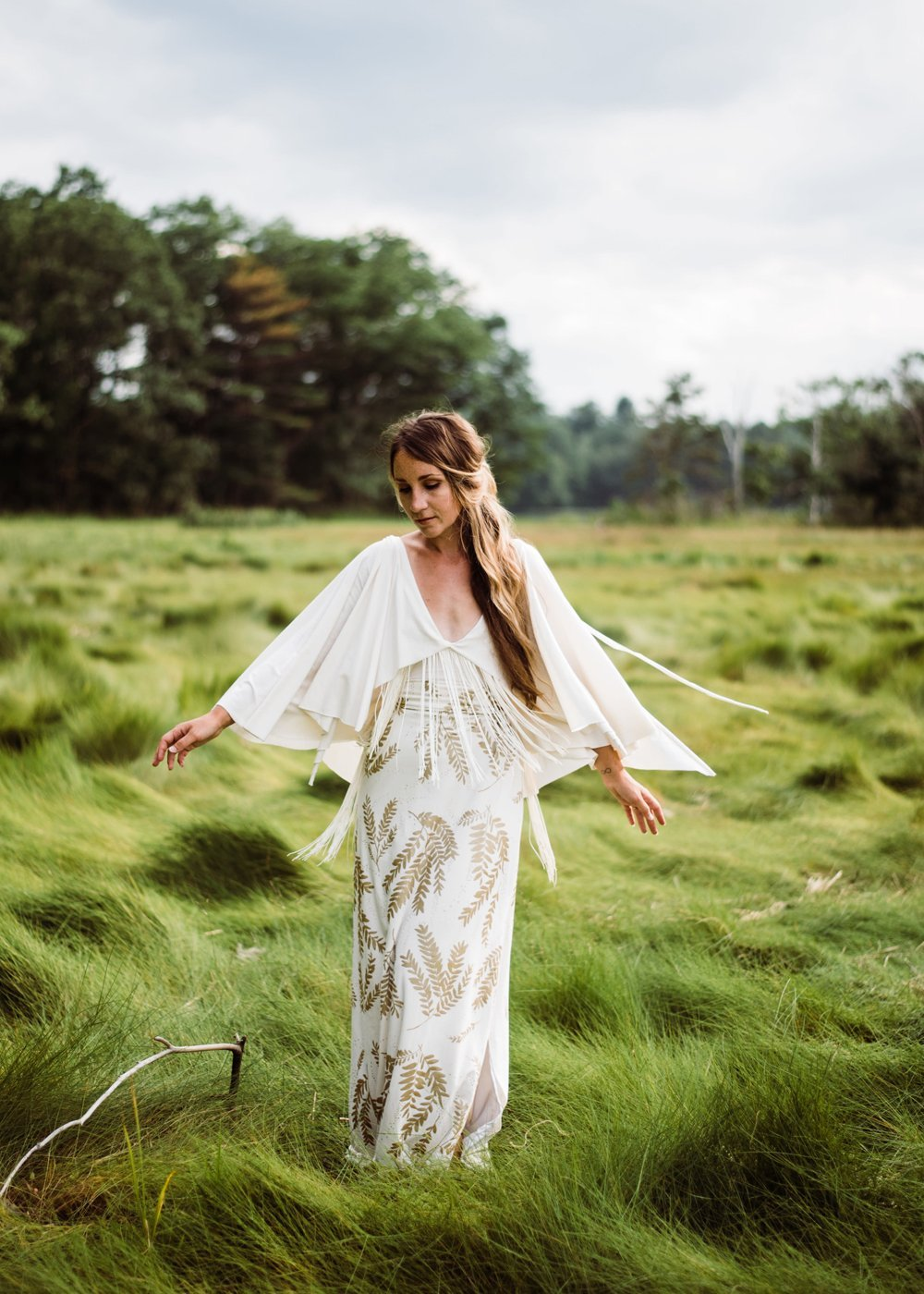 The Ecru Gown $689, photo by Meghan Stempel