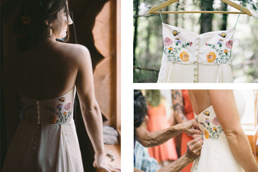 Custom Heirloom Dress,  photos by  Jared Willis