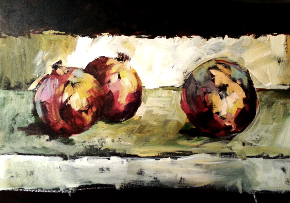 Three Pomnegranates