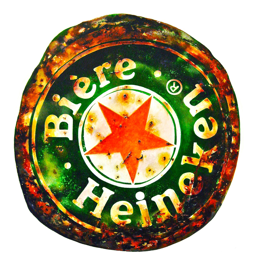 Heineken bottle top