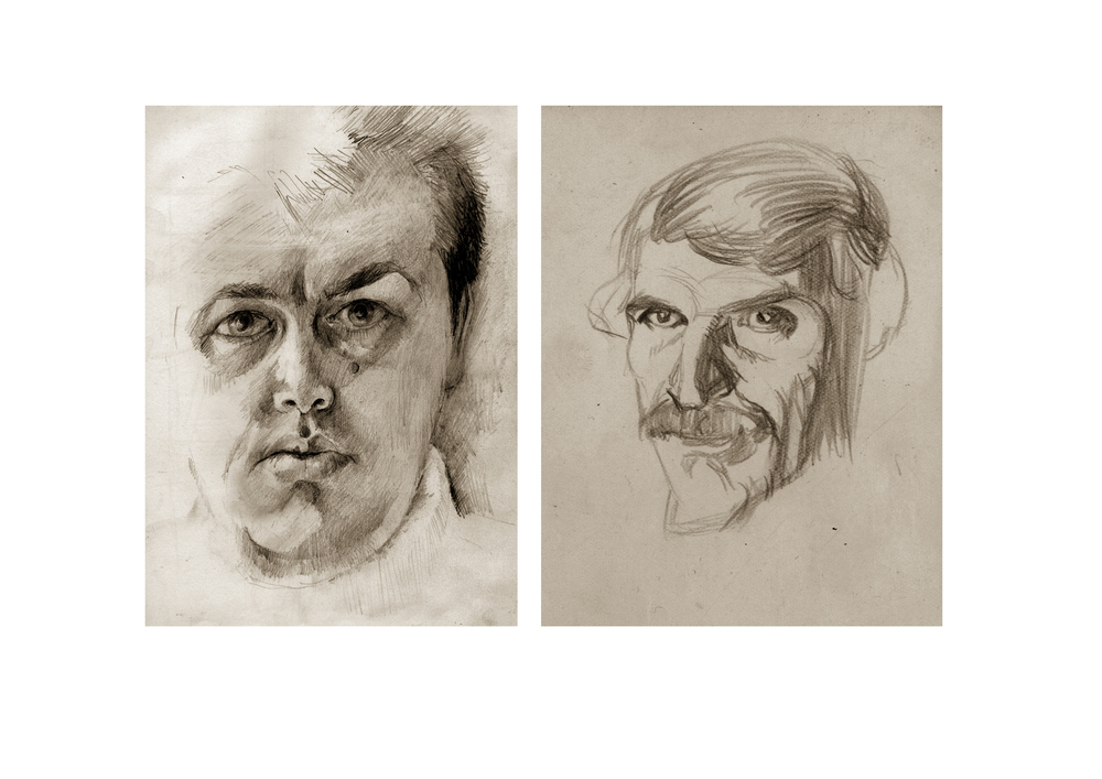 Self Portrait drawings