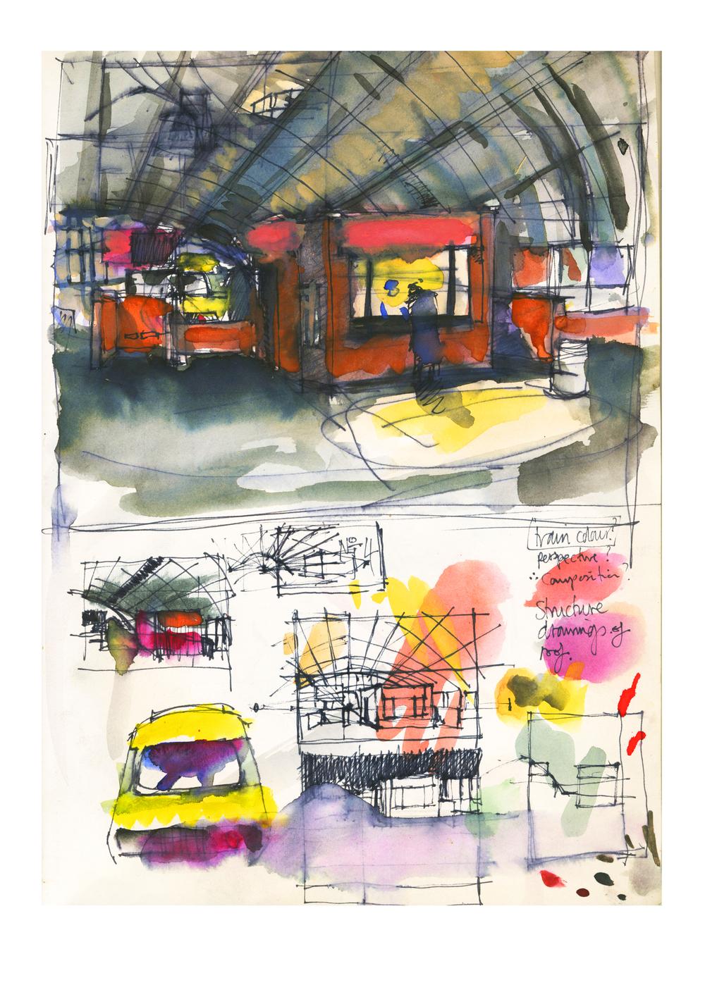 Preparatory work at Euston Station