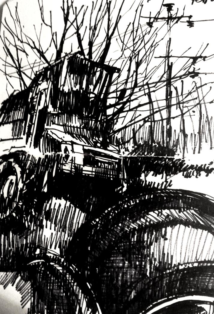 "Beauchalot - tractor ""graveyard"""