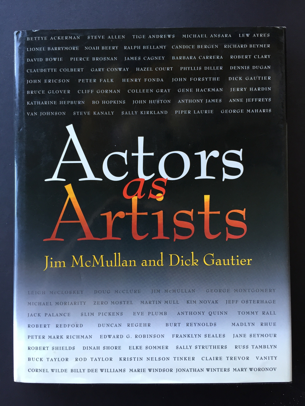 Actors as Artists